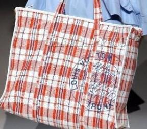 如何利用编织袋更时尚