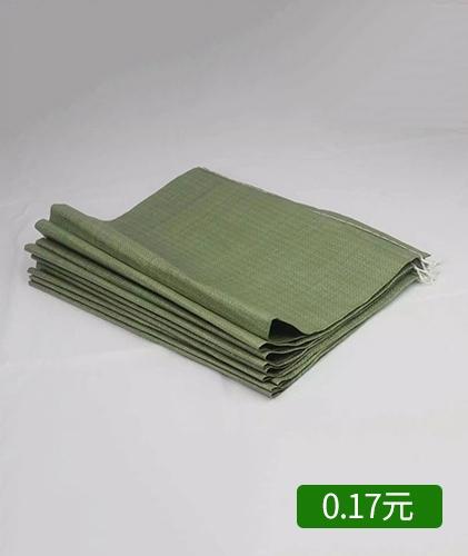 薄款40x60绿色编织袋